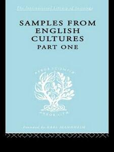 Samples from English Cultures: Part 1 - Josephine Klein - cover
