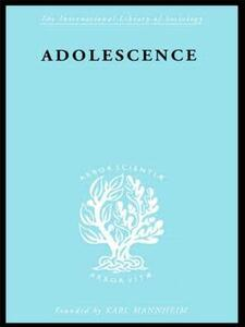 Adolescence: Its Social Psychology - C. M. Fleming - cover