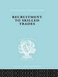 Recruitment to Skilled Trades - Gertrude Williams - cover