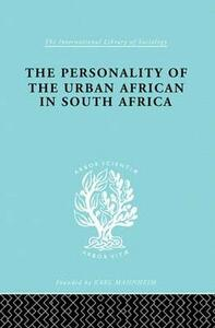 The Personality of the Urban African in South Africa - C. de Ridder - cover