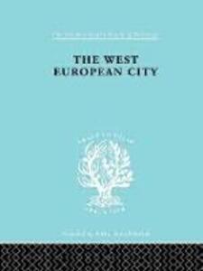 West European City     Ils 179 - Robert E. Dickinson - cover
