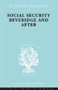 Social Sec:Beveridge   Ils 191 - George Victor - cover
