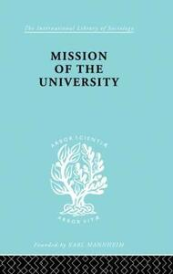 Mission of the University - Jose Ortega y Gasset - cover