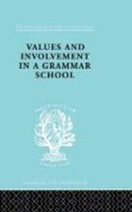 Values&Involv Gram Sch Ils 240 - Ronald King - cover