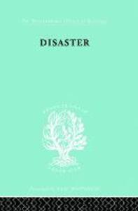Disaster: A Psychological Essay - Martha Wolfenstein - cover