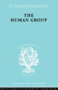 The Human Group - George Caspar Homans - cover