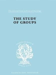 The Study of Groups - Josephine Klein - cover