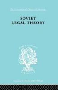 Soviet Legal Theory    Ils 273 - Rudolf Schlesinger - cover