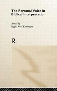 The Personal Voice in Biblical Interpretation - cover