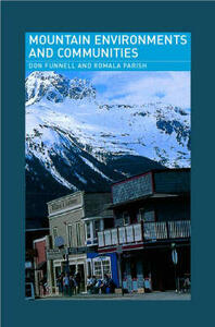 Mountain Environments and Communities - Don Funnell,Romola Parish - cover