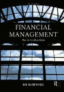 Financial Management: An Introduction - Jim McMenamin - cover