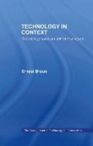 Technology in Context: Technology Assessment for Managers - Ernest Braun - cover