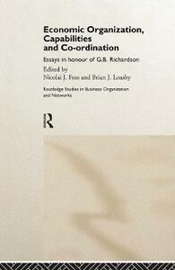 Economic Organization, Capabilities and Coordination - cover