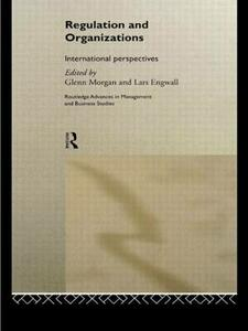 Regulation and Organisations: International Perspectives - cover