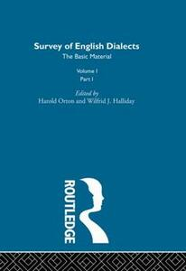 Survey Eng Dialects Vol1 Prt1 - cover