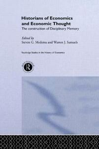 Historians of Economics and Economic Thought - cover