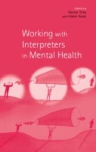 Working with Interpreters in Mental Health - cover