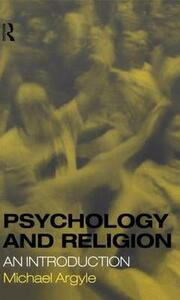 Psychology and Religion: An Introduction - Michael Argyle - cover