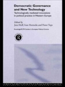 Democratic Governance and New Technology - cover