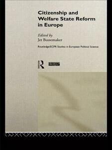Citizenship and Welfare State Reform in Europe - cover