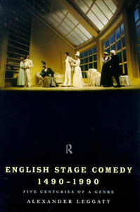 English Stage Comedy 1490-1990 - cover