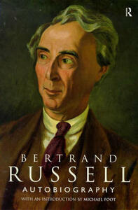 The Autobiography of Bertrand Russell - Bertrand Russell - cover