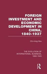 Foreign Invest Econ China   V8 - cover
