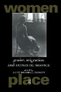 Gender, Migration and Domestic Service - cover