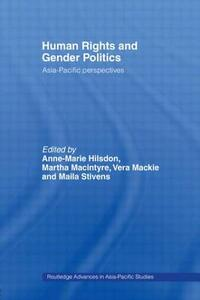 Human Rights and Gender Politics: Asia-Pacific Perspectives - cover