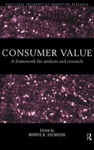 Consumer Value: A Framework for Analysis and Research - cover