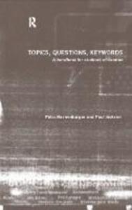 Topics, Questions, Key Words: A Handbook for Students of German - Petra Hachenburger - cover