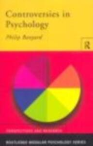 Controversies in Psychology - Phil Banyard - cover