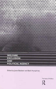 Welfare, Exclusion and Political Agency - cover