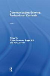 Communicating Science: Professional Contexts (OU Reader) - cover