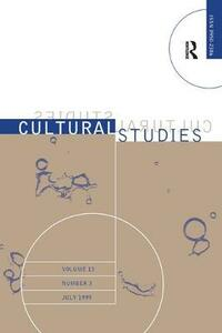 Cultural Studies V13 Issue 3 - cover