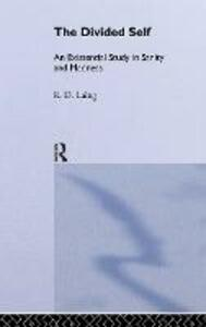 The Divided Self: Selected Works of R D Laing: Vol 1 - cover