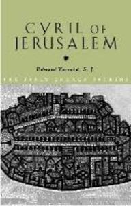 Cyril of Jerusalem - Edward Yarnold - cover