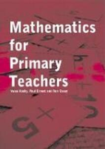 Mathematics For Primary Teachers - cover