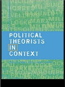 Political Theorists in Context - Stuart Isaacs,Chris Sparks - cover