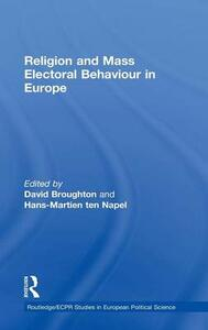 Religion and Mass Electoral Behaviour in Europe - cover
