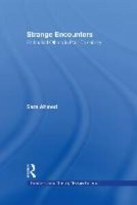 Strange Encounters: Embodied Others in Post-Coloniality - Sarah Ahmed - cover