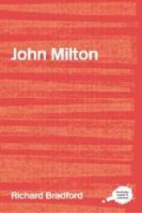 John Milton - Richard Bradford - cover