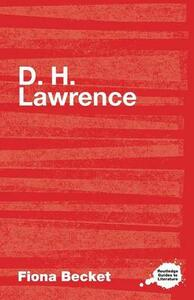 D.H. Lawrence - Fiona Becket - cover