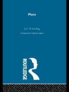 Plato-Arg Philosophers - J. C. B. Gosling - cover