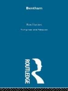 Bentham-Arg Philosophers - Ross Harrison - cover