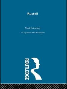 Russell-Arg Philosophers - R. M. Sainsbury - cover