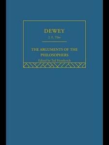 Dewey-Arg Philosophers - James E. Tiles - cover