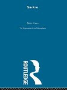 Sartre-Arg Philosophers - Peter Caws - cover