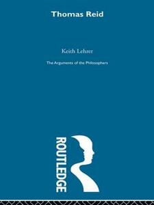 Reid-Arg Philosophers - Keith Lehrer - cover