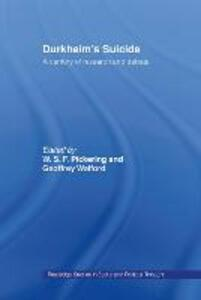 Durkheim's Suicide: A Century of Research and Debate - cover